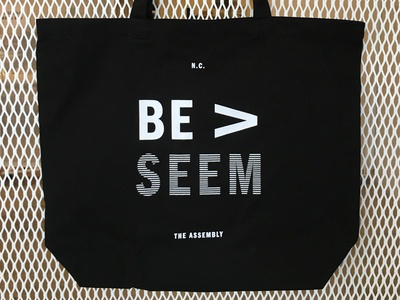 "The Assembly ""Be > Seem"" bag"
