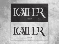 Loather Band Logo concept