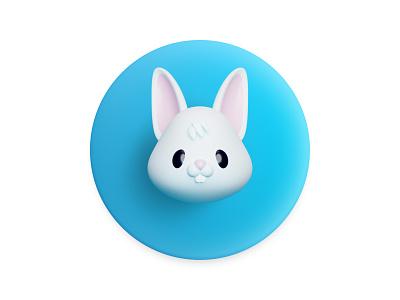 Happy Easter logotype flatstudiologo esateregg easterraabbit rabbit easter