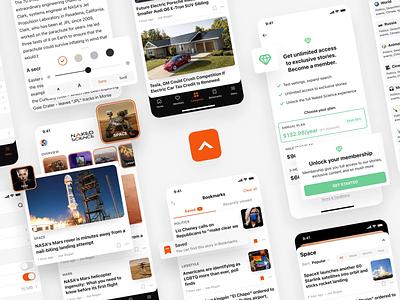 Skyur.app techcrunch usatoday nakedscience nocode nocodeapp medium skyur.app articles news app ios app