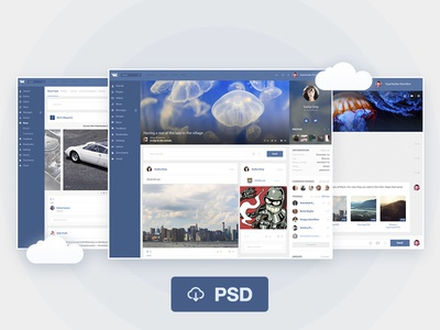 Redesign of the Vk PSD