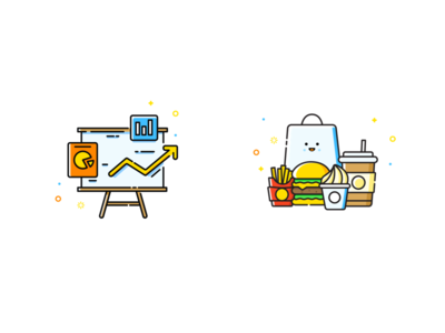 Foodberry App illustrations 2