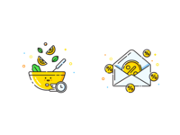 Foodberry App illustrations 3