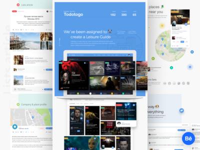 Todotogo - Redesign