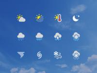 Weather icons:  Flatstudio vs Apple 🧐