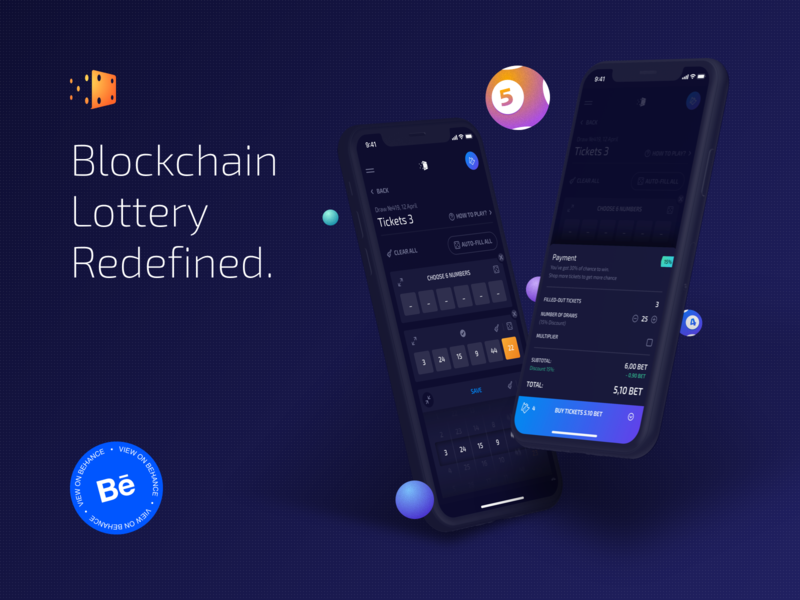 Dao.Lottery: Behance case protocol blockchain casino lottery dao behance project illustration typography presentation behance