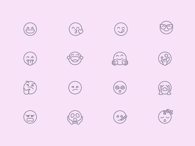 Tender Icons: Smileys