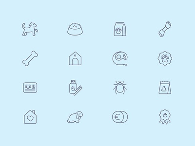 Tender Icons: Pet Shop