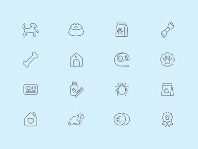 Tender Icons: Pet Shop