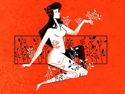 Greek punishments design flat character minimalist vectorillustration vector texture mythology greek