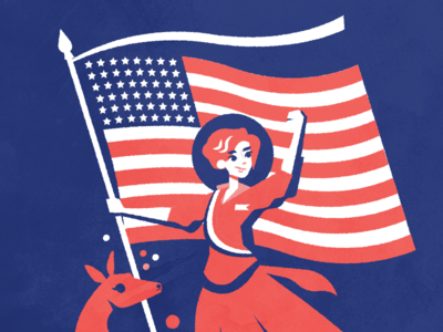 Happy Independence Day! america united states us suffragist feminism fourth of july independence day