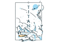 Visit Titan ... it's cool ... literally.