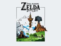 Still playing Zelda :)