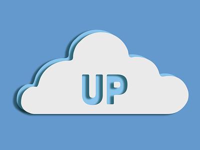 cloud computing logo up branding logo design logo design cloud cloud computing