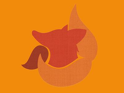 fox logo texture canvas vector icon illustration logo design minimal logo design fox fox logo