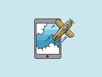 Fly out from tablet