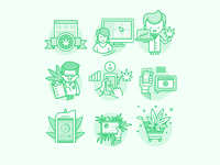 Icon set for Potbotics project