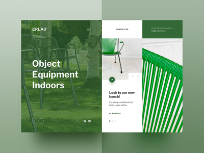 Erlau - the concept of home page