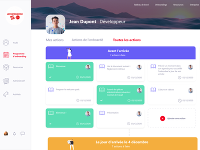 HeyTeam Redesign redesign heyteam onboarding design ui