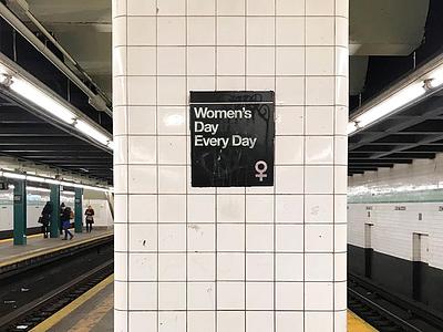 IWD Subway contentcreation socialcontent artdirection womensday iwd retouching subway