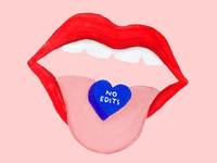 No Edits Valentine