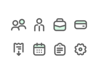 Icons Business Time