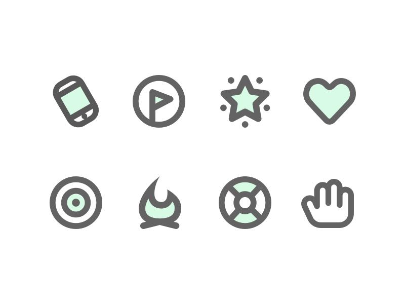 Icons mobile fun