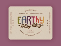 Earthy Play Clay