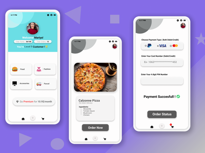 FOOD DELIVERY APP UI DESIGN ।। DRIBBBLE food delivery app figma app design resturant app food app ui app ui app ui design