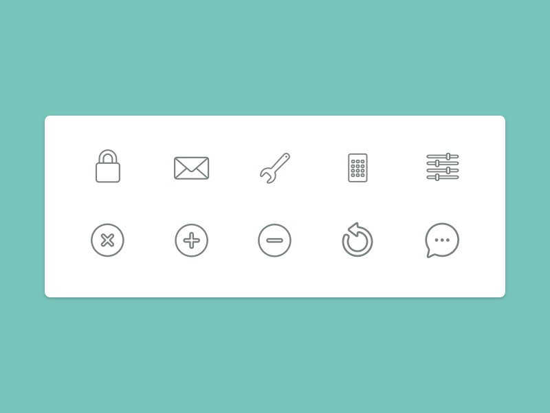 Math App Icon Sheet by Greg Hansen - Dribbble
