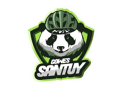 Gowes Santuy Logo Design mascotlogo emblemlogo sportlogo cartoonlogo logo