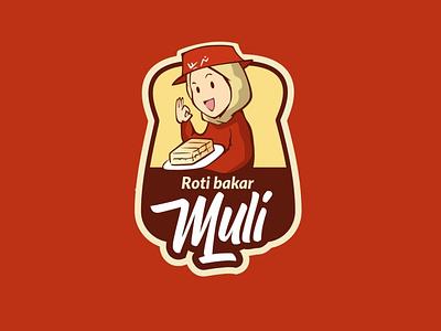 Muli rotibakar logo design vector illustration logo mascotlogo emblemlogo cartoonlogo
