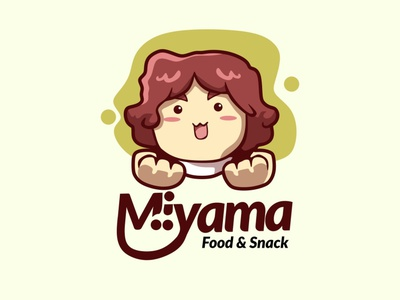 miyama logo design illustration mascotlogo logo emblemlogo cartoonlogo