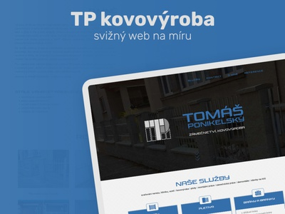 website for steel manufacturing graphics design webdesign