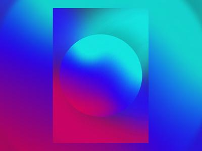 Inner Calm shapes colour design poster illustration experimental digitalart