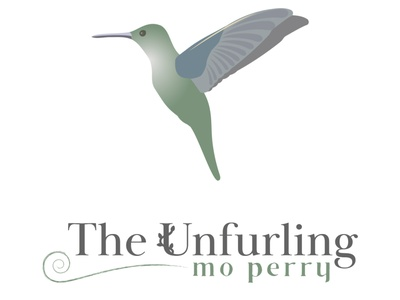 Unfurling - hummingbird illustration nature feminine adobe illustrator vector logo illustration