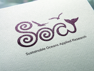 SOAR logo nautical branding adobe illustrator vector logo illustration