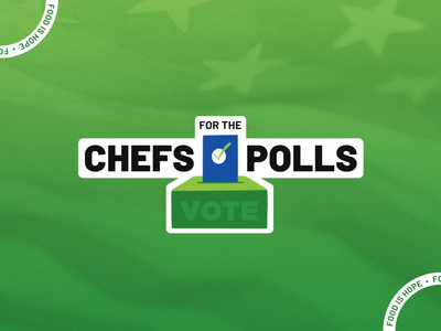 Chefs For The Polls Stickers gif sticker motion animation polls vote chef election nonprofit