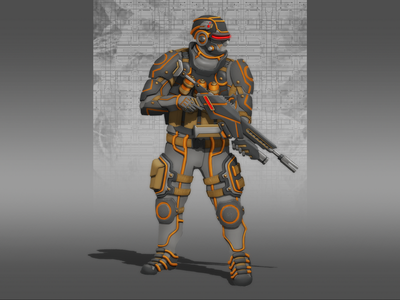 NEAR FUTURE SOLDIER conceptart concept future scifi soldier gameart gamedesign art