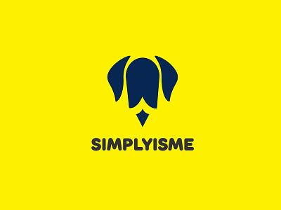 Simplyisme Company Logo flat minimal logo designs minimalistic minimalist minimalist logo minimalist logo design logo design design vector logo