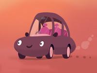 Little ickle car