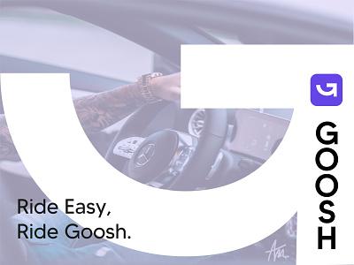 Goosh rebrand brand design branding logo design design brand identity