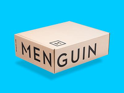 Menguin Box Concept photography composite retouch