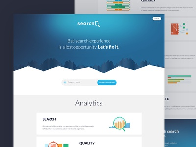 SearchD - Product Page search product page ui onepage analytics