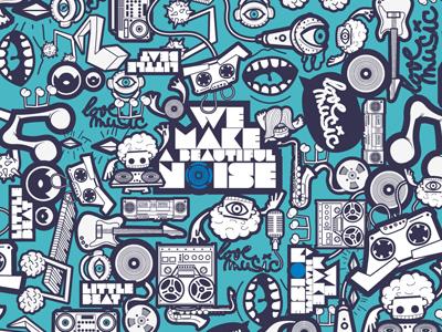 Little beat pattern 01