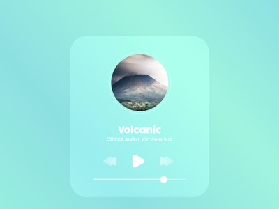 Audio App UI Design gradient blue green app ecommerce app audio audio app ecommerce uiux logo ux designs app ui design branding illustration brand design design