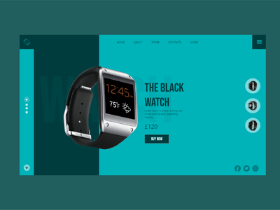 WATCH UI DESIGN watch watch ui green blue ecommerce designs brand design designer ui design ui logo branding illustration design