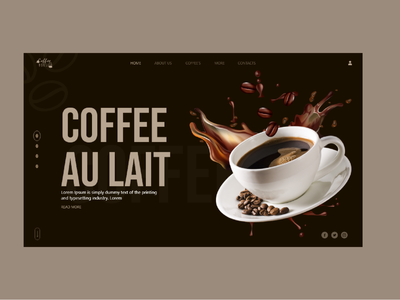 coffee UI design education adobe ad cafe ui cafe coffee coffee bean coffee shop ecommerce ecommerce app ux uiux logo app designer typography brand design illustration brand design
