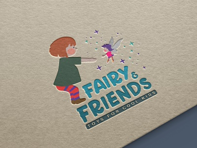 Logo design - design for cool kids toy kids illustration kids design digitalart illustration illustrator vector graphicdesign branding logodesign logomark logo webdesign