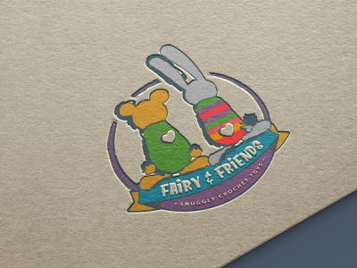 Design for cool kids - Logo for artesanal toys branding brand marketing fairy artesanal toys bunny bear bear logo designforkids illustrator logo logodesign graphicdesign illustration